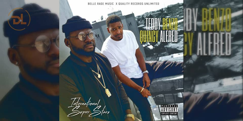 Zoom Sur L'album International Super Stars (I.S.S) de Teddy Benzo & Quincy Alfred